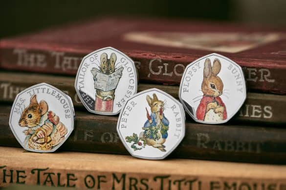 beatrix potter 50p collection