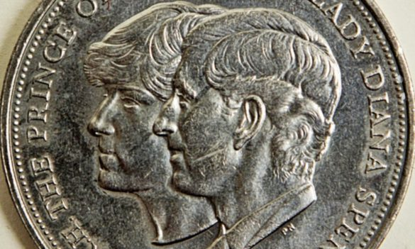 how much is a 1981 charles and diana coin worth