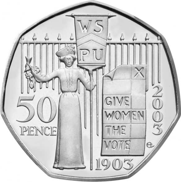 suffragette 50p