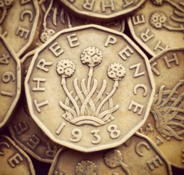 threepence value today