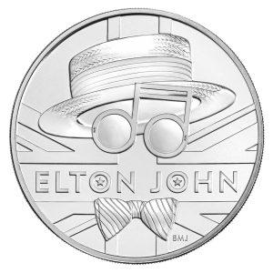 elton john £5 coin